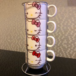 Set Of 4 Stacking Cups