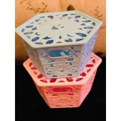 Medium Hexagon Storage Basket