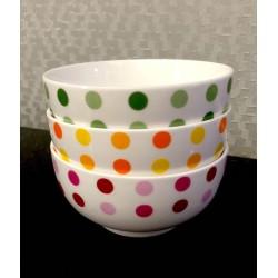 3 in 1 Polka dot Bowl Series