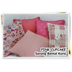 Sarung Bantal Pink Cupcake...