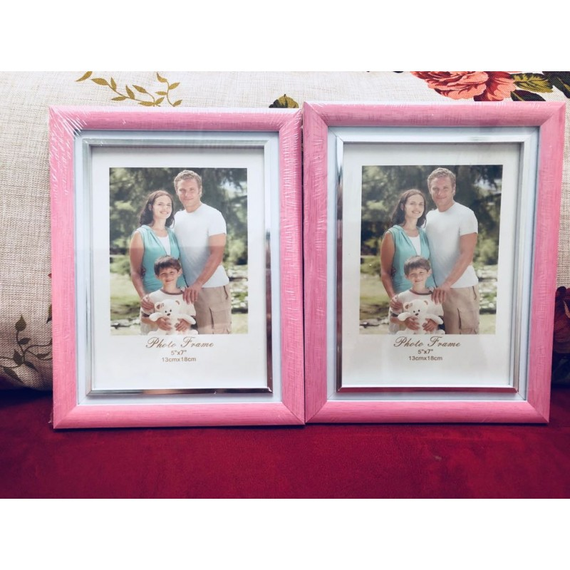 3 in 1 Photo Frame Pink Series